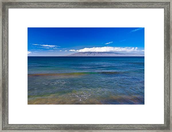 Rainbow Wave   Framed Print