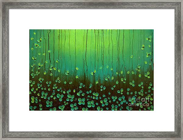 Raining Petals Framed Print