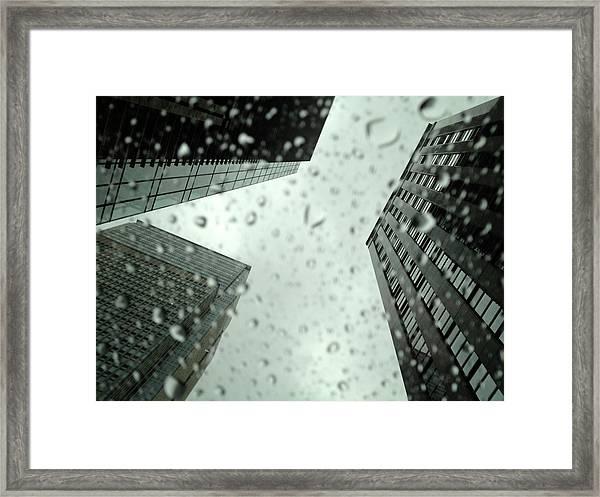 Rainny Day Framed Print
