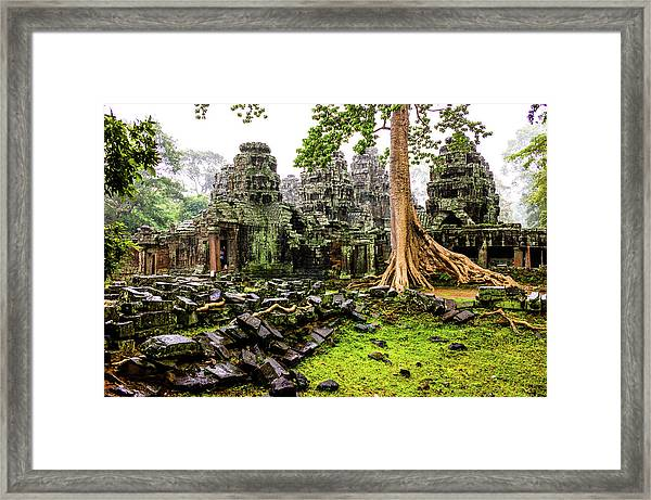 Rainny Siem Reap Framed Print