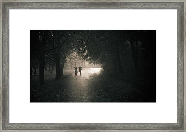 Rainy Afternoom Framed Print