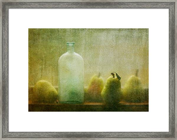 Rainy Days Framed Print