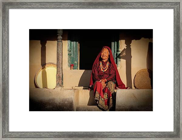Raj Kumari Gurung Framed Print