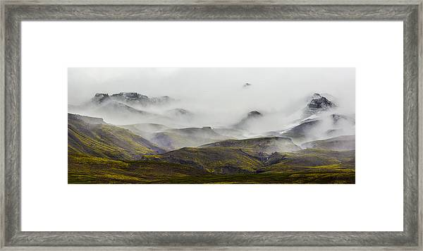 Ramble Thru The Mountains I Framed Print