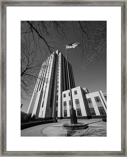Ramsey County Courthouse Framed Print