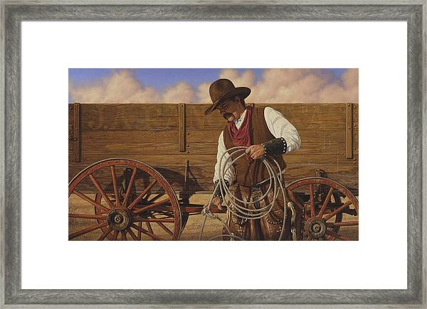 Ranch Wagon Framed Print