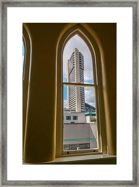 Randomness Framed Print by Glenn DiPaola