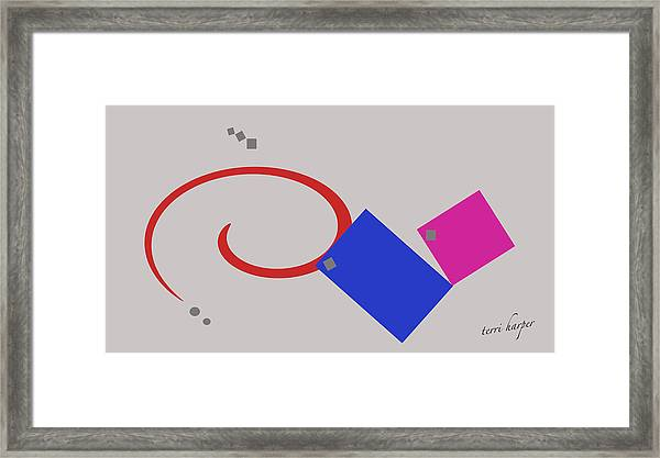 Randomness Variations 1 Framed Print