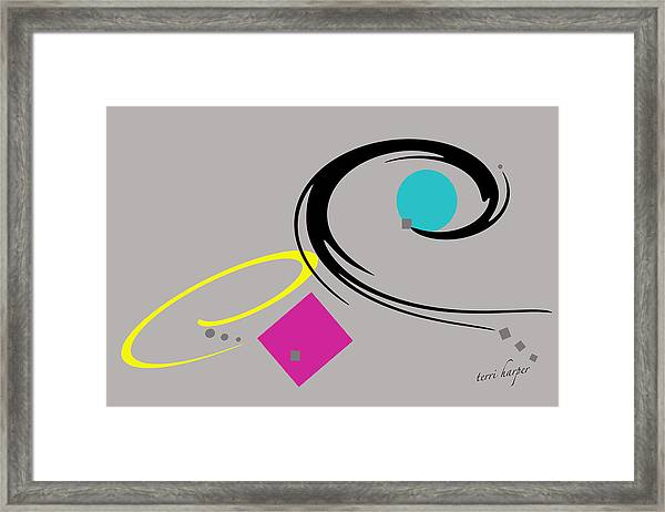 Randomness Variations 2 Framed Print