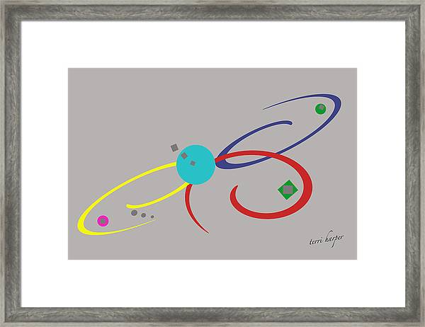 Randomness Variations 3 Framed Print
