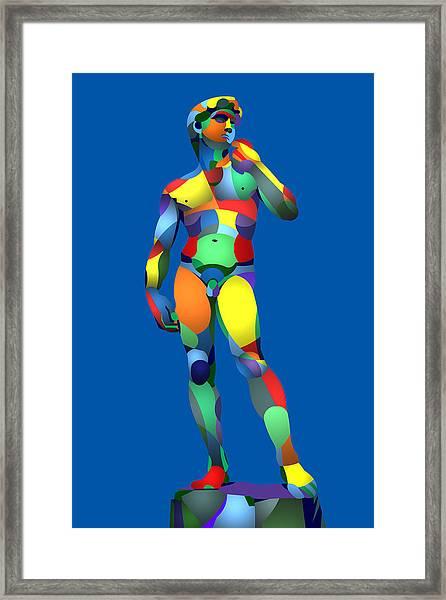 Randy's David Blue Framed Print
