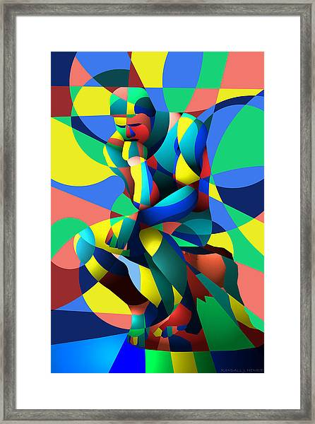 Randy's Rodin 2 Framed Print