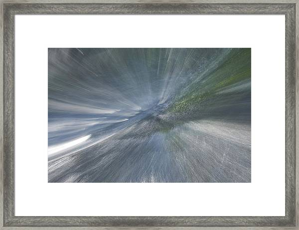 Rapids To Heaven 2 Framed Print