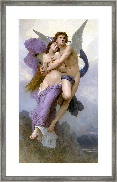 Rapture Of Psyche  Framed Print
