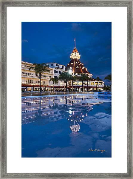Rare Reflection Framed Print