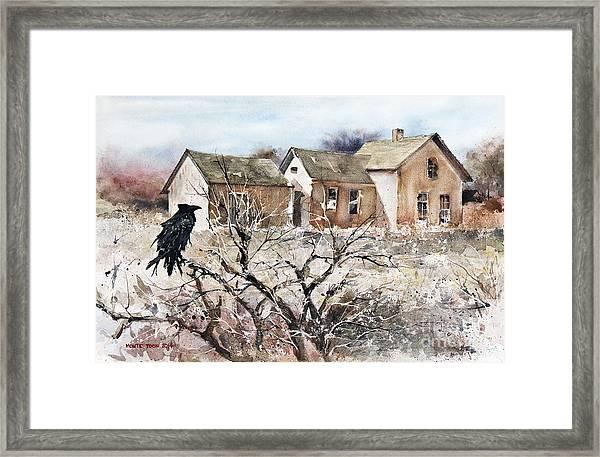 Raven Roost Framed Print