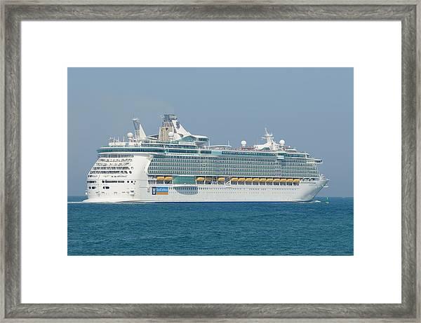 Rci Freedom Of The Seas Framed Print