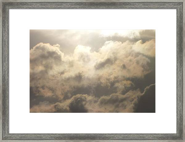 Reach For The Sky 19 Framed Print
