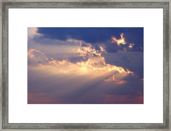 Reach For The Sky 2 Framed Print