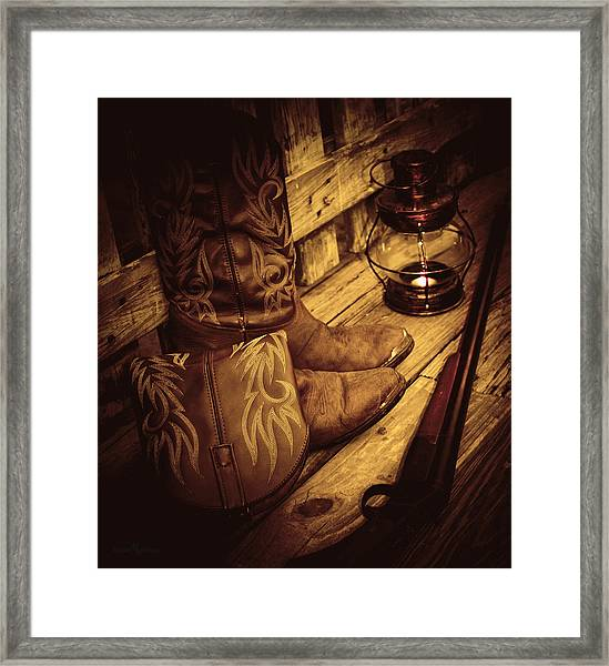 Ready To Hunt Too Framed Print