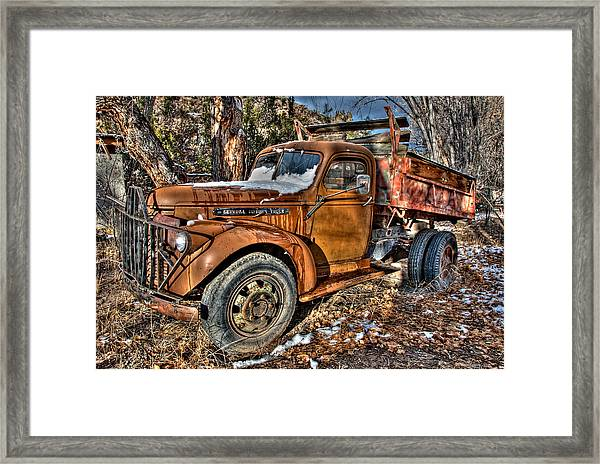 Ready To Roll Framed Print
