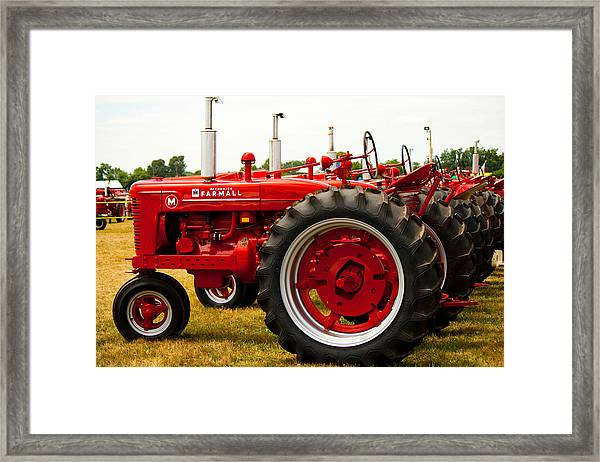 Ready To Work Framed Print