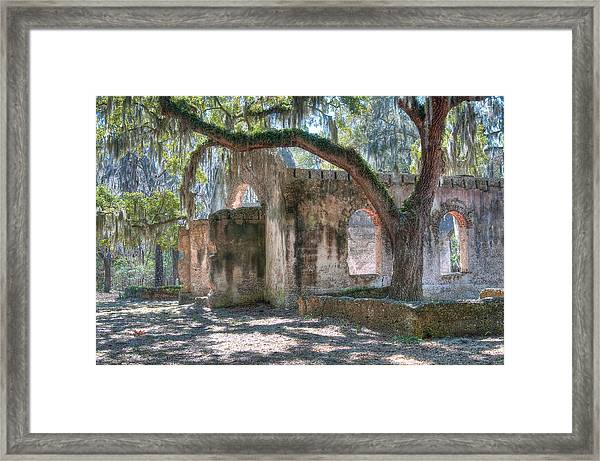 Rear View Of The Chapel Of Ease Framed Print