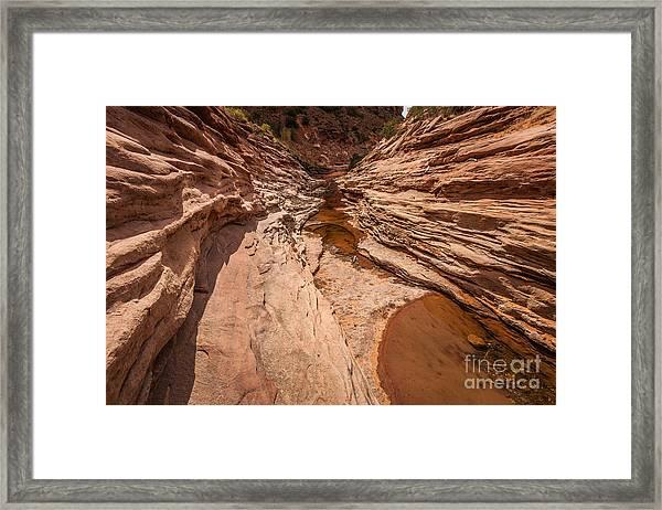 Rebel Ravine Framed Print