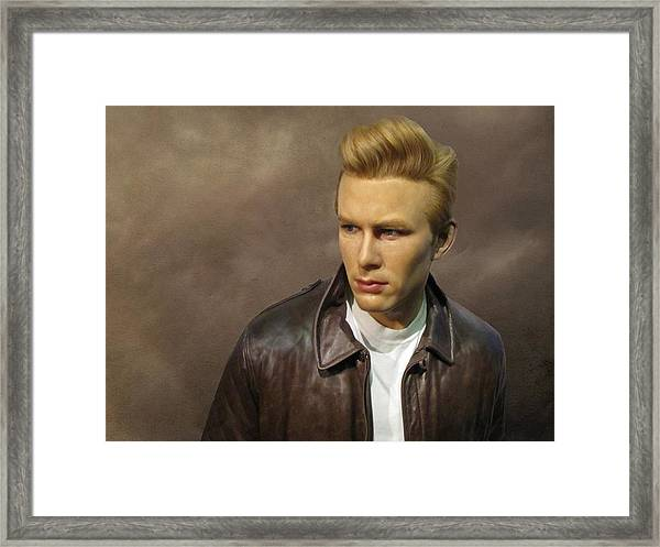 Framed Print featuring the photograph Rebel Without A Cause by David Dehner