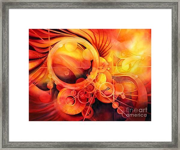 Rebirth - Phoenix Framed Print
