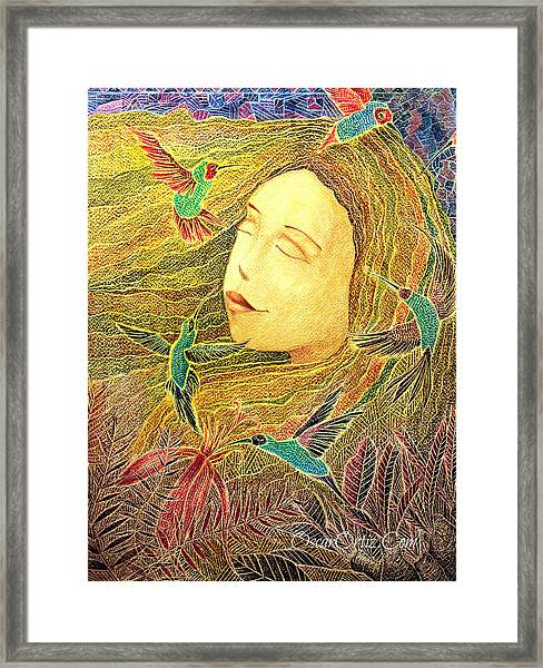 Framed Print featuring the painting Recordando A Puerto Rico by Oscar Ortiz