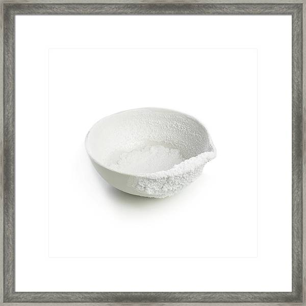 Recrystallised Rock Salt Framed Print