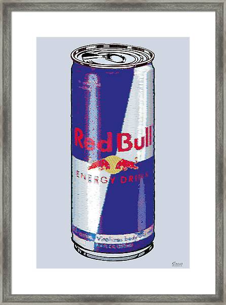 Red Bull Ode To Andy Warhol Framed Print
