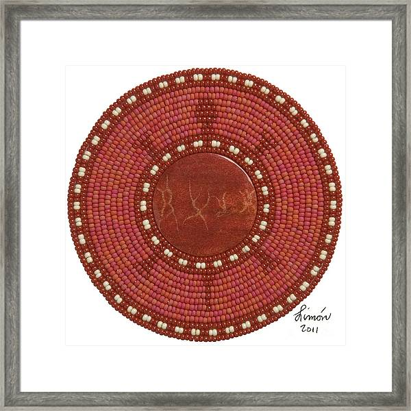 Red Coral Framed Print