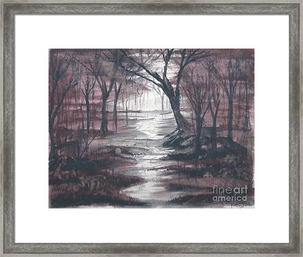 Red Mist  Framed Print