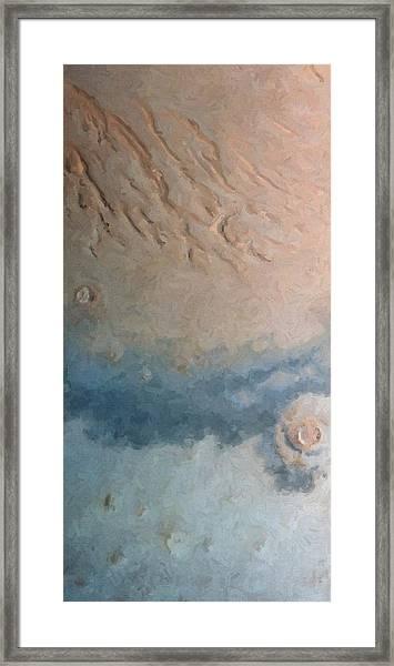 Red Planet 1 Framed Print