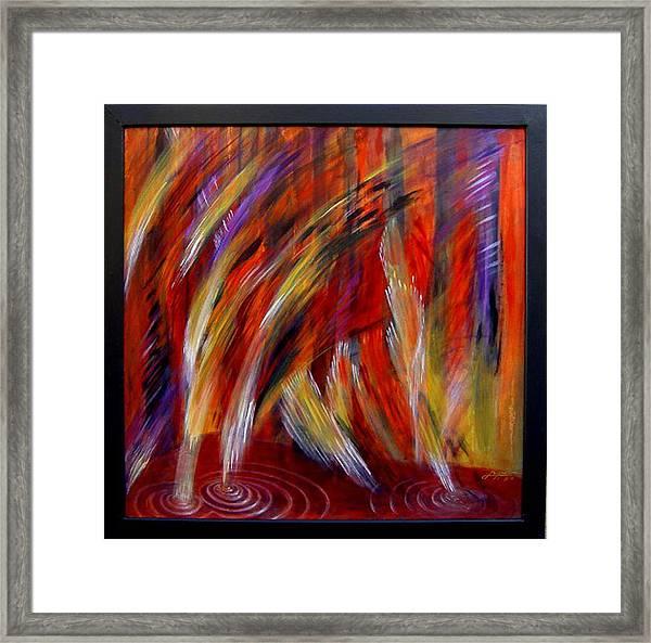 Red River Framed Print