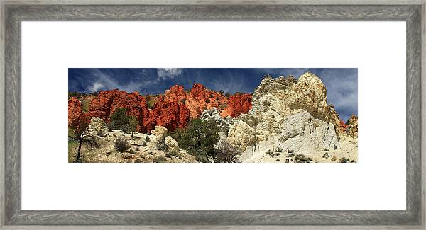 Red Rock Canyon Framed Print