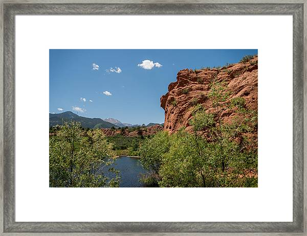 Red Rock Canyon Open Space Series Framed Print
