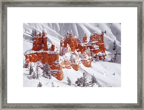Red Rock Castle Framed Print