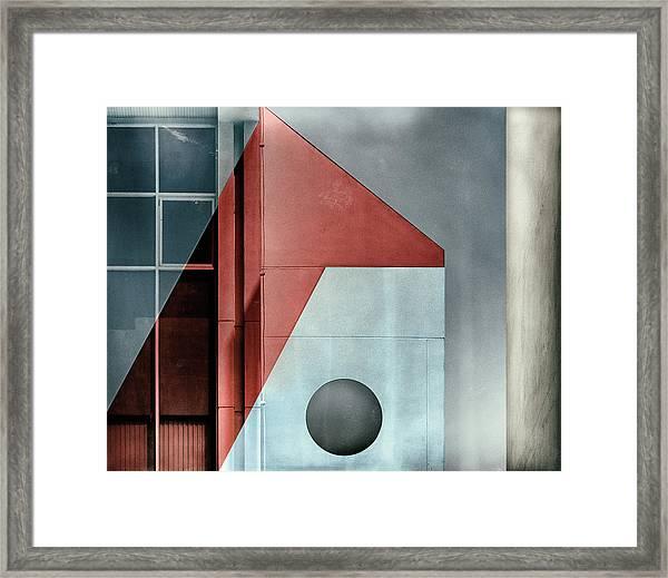Red Transparency. Framed Print by Harry Verschelden