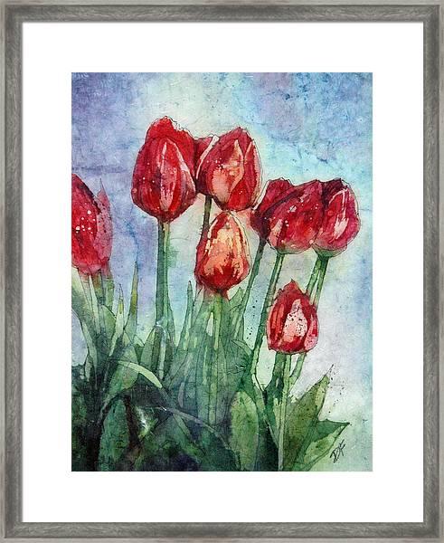The Promise Of Spring Framed Print