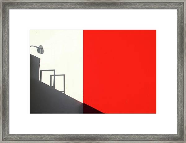 Red Westwood Framed Print