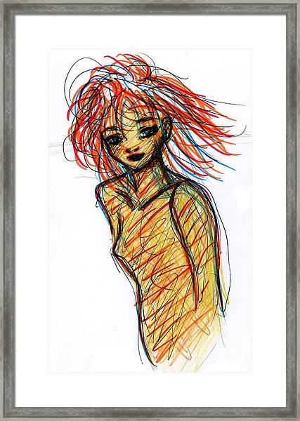 Redhead I Framed Print