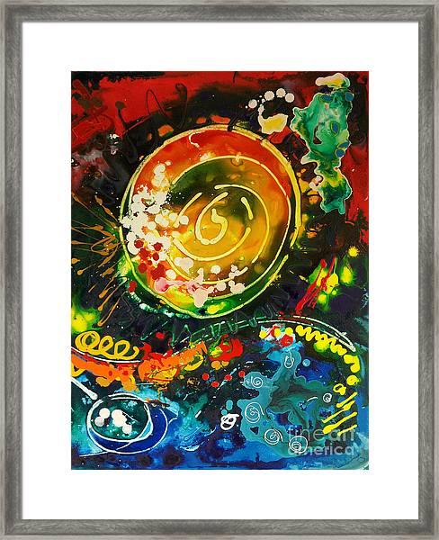 Redshift Canvas 3 Framed Print