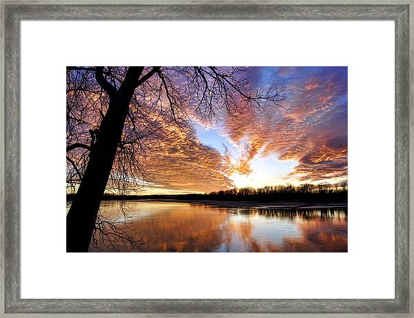 Reflected Glory Framed Print