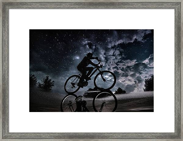 Reflected In The Stars... Framed Print