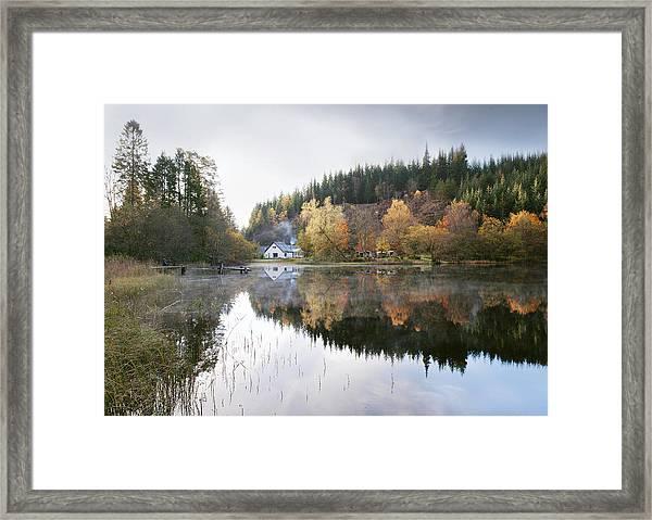 Reflected Mist Framed Print