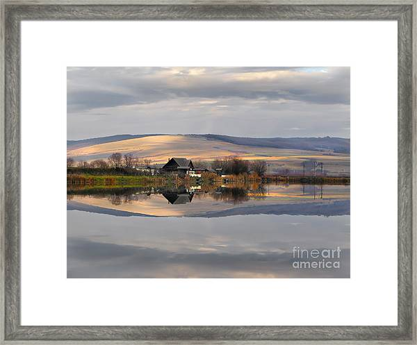 Reflection A Mirror To Nature Framed Print