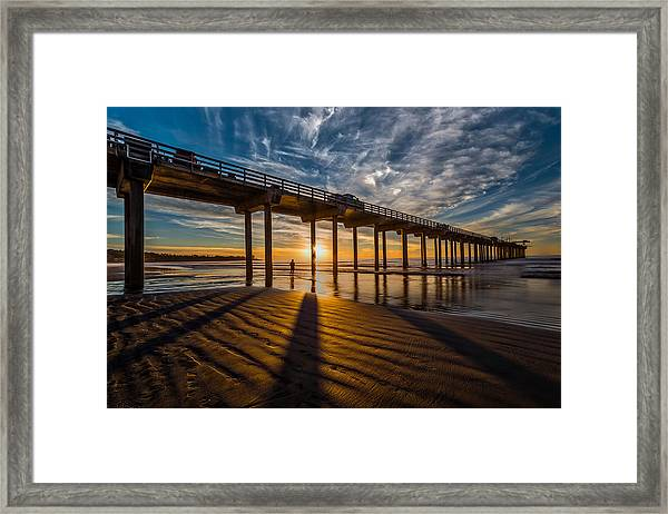 Reflection And Shadow Framed Print